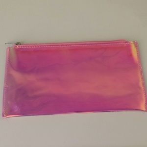 Rainbow Iridescent Cosmetic/Curling Iron Bag
